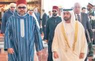 رئيس الإمارات يبارك عيد الاستقلال للملك