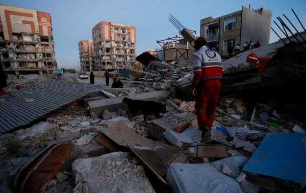 ارتفاع حصيلة زلزال إيران إلى 530 قتيلا