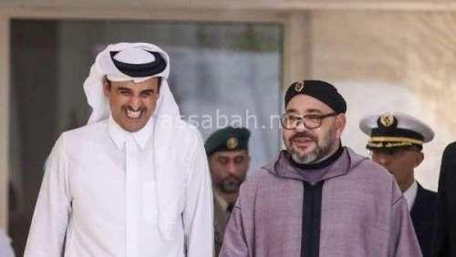 رسالة خطية من الملك إلى أمير قطر