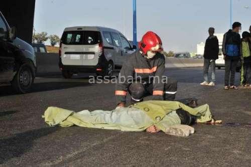 قتيل في حادثة سير بسلا