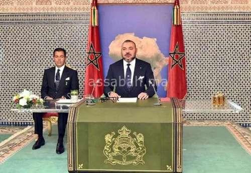 بث مباشر ... خطاب الملك بمناسبة ثورة الملك والشعب