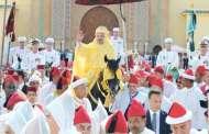 الملك يترأس حفل الولاء بالقصر الملكي بتطوان