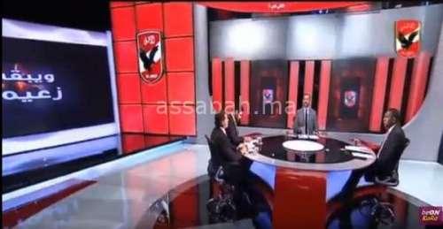 فيديو .. صحافي مصري ينفجر بعد هزيمة الأهلي
