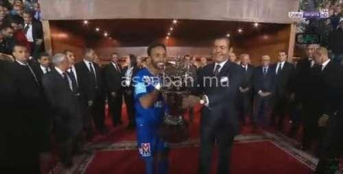 فيديو .. ملخص تتويج الرجاء بكأس العرش