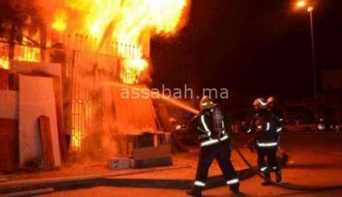 حريق يقتل طفلة بالرباط