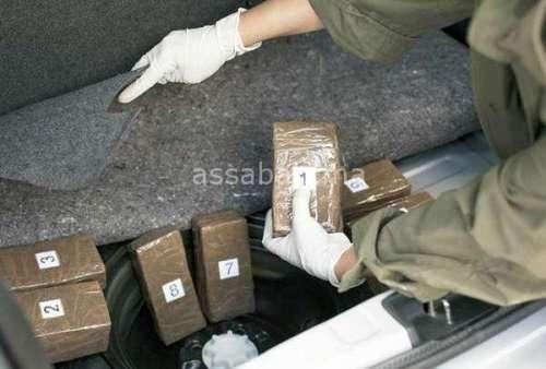 حجز مخدرات داخل سيارات