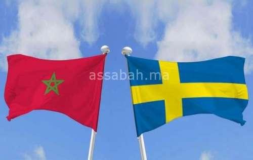 برقية تهنئة من الملك إلى عاهل السويد