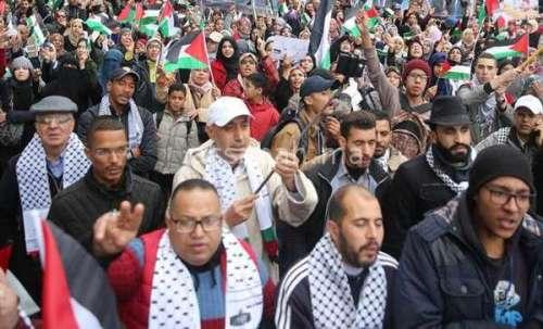 مغاربة ضد خطة القرن