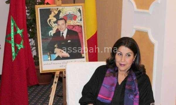 توشيح سفيرة المغرب برومانيا - جريدة الصباح