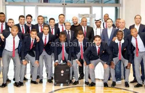 صور وصول الوداد إلى أبوظبي