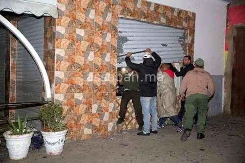 13 جريحا في انفجار مقهى ابن مسيك