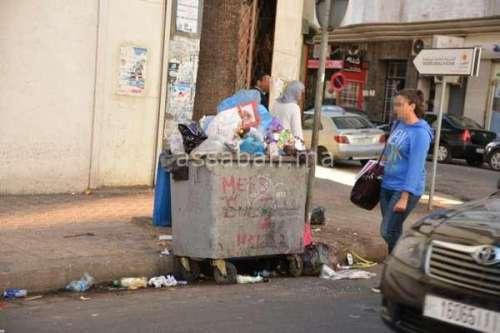 منتخبون يعرون فضائح النظافة بالبيضاء