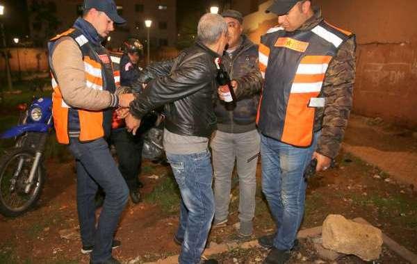 أمن وجدة يعتقل 644 شخصا في 48 ساعة