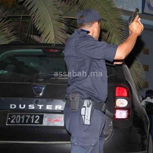الدار البيضاء ... اطلاق الرصاص لتحييد خطر مجموعة أشخاص حاولوا عرقلة عملية توقيف مشتبه فيه