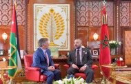 برقية تهنئة من الملك إلى عاهل الأردن