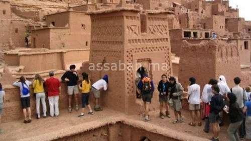 أرقام السياحة بورزازات في ارتفاع