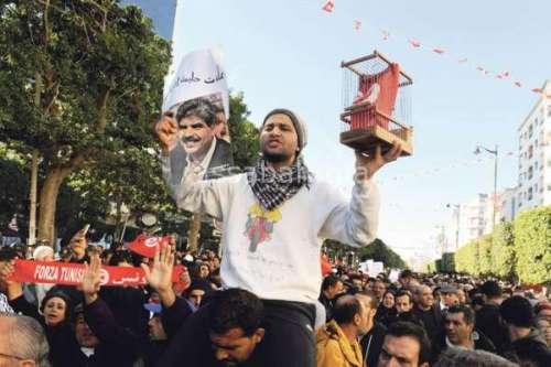 تونس في القفص