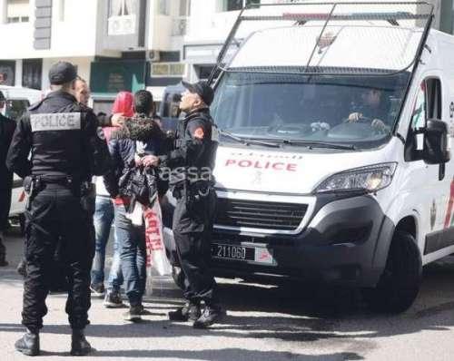 مواجهات واعتقالات في الديربي