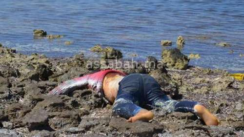 قتلت زوجها ورمته في البحر
