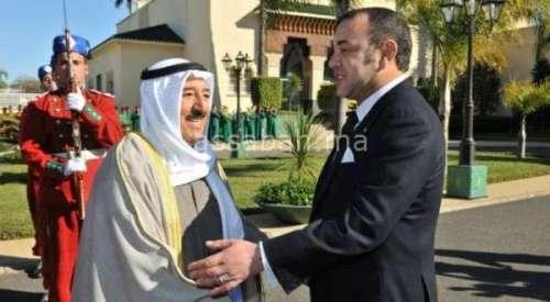 رسالة ملكية إلى أمير الكويت