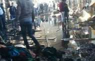 حريق سوق إنزكان يُتلف 223  متجرا