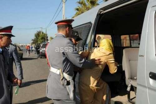 ضبط زوجة في حضن سائق بتاونات