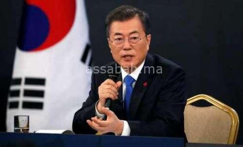 رئيس كوريا الجنوبية يدعو لمنح جائزة نوبل للسلام لترامب