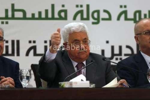 محمود عباس يشيد بجهود الملك لدعم صمود المقدسيين