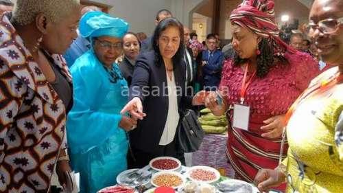 الكرماعي: لا تنمية إفريقية بدون نساء