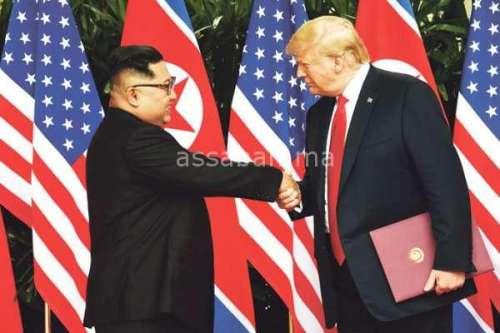 الزعيم الكوري الشمالي يريد اجتماعا ثانيا مع ترامب