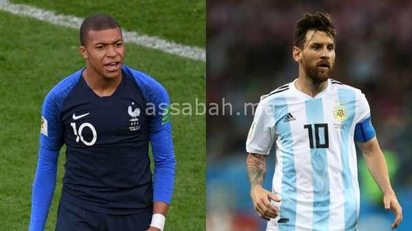 فيديو ... ملخص مباراة فرنسا و الأرجنتين