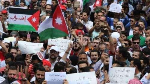 زلزال سياسي بالأردن بسبب الاحتجاجات