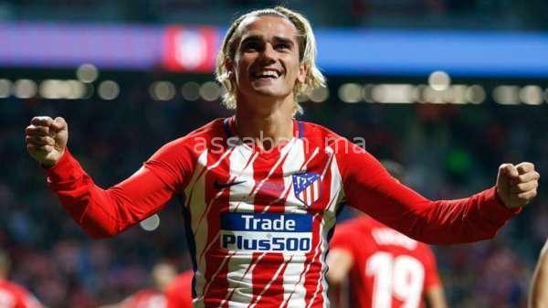 غريزمان يجدد عقده مع أتلتيكو مدريد