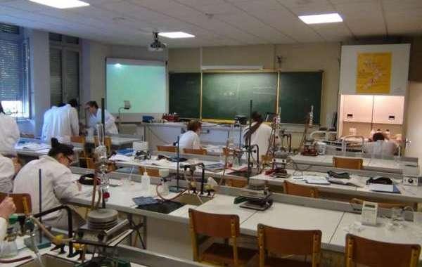 السطو على مختبر ثانوية بتاونات
