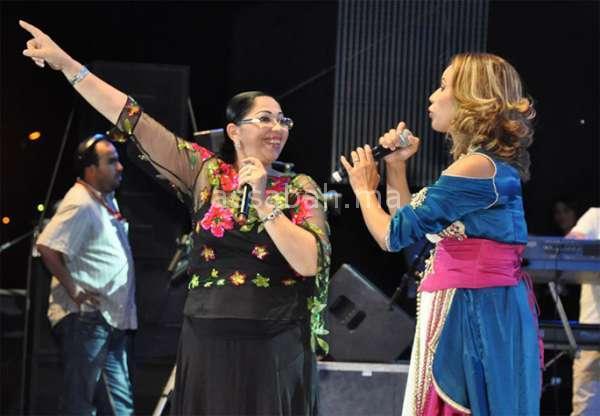 هويدا والزهوانية في مهرجان الراي