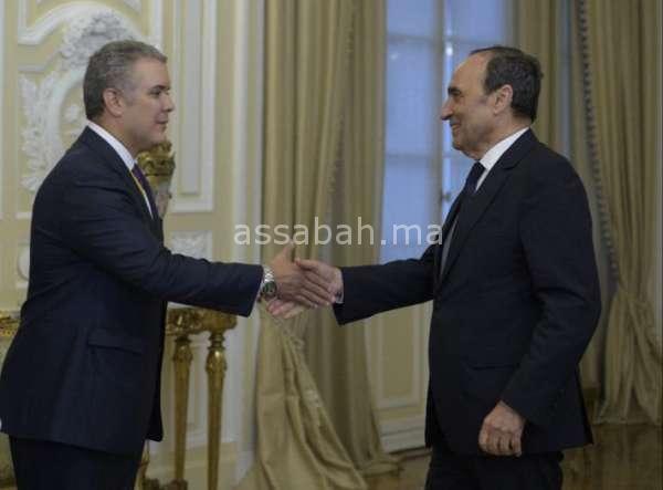 الرئيس الكولومبي الجديد ينوه بجودة العلاقات مع المغرب