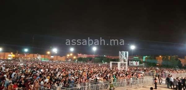 150 ألف متفرج في اختتام مهرجان الجمل