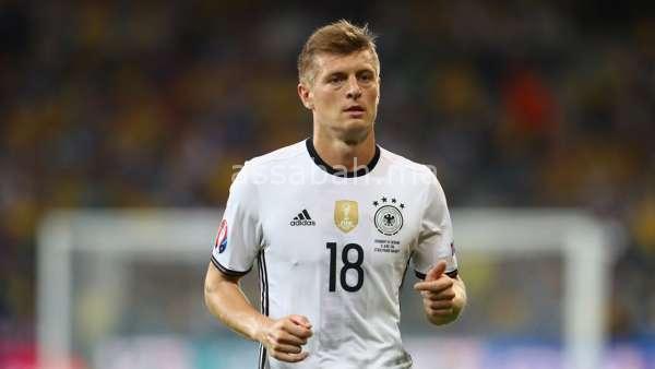كروس أفضل لاعب ألماني في 2018