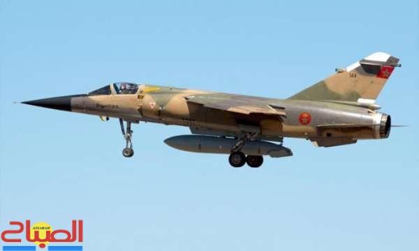 فيديو يوثق لحظة سقوط الطائرة العسكرية قرب تاونات