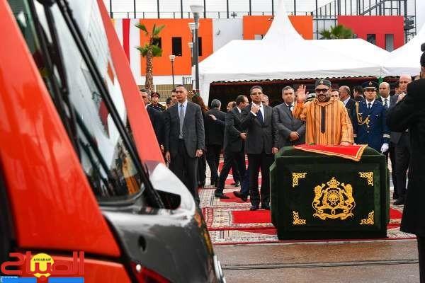 الملك يدشن محطة جديدة بمطار محمد الخامس