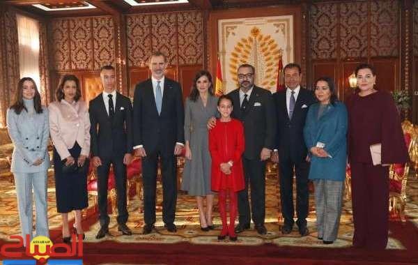 عاهل إسبانيا يغادر المغرب بعد زيارة مثمرة