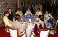 الملك يقيم حفل عشاء رسمية على شرف عاهلي إسبانيا
