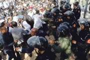 اعتقالات وإصابات في صفوف الأساتذة