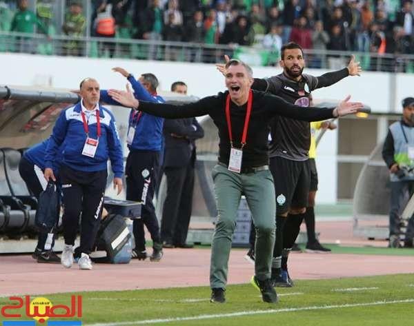 الرجاء في مباراة تضميد الجراح بمصر