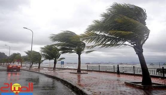 نشرة إندارية ... رياح قوية وأمواج خطيرة يومي الثلاثاء والأربعاء بالشمال