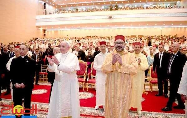 فيديو ... خطاب الملك بأربع لغات بمناسبة زيارة البابا فرنسيس