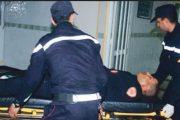 السراح لجانح كسر ذراع شرطي