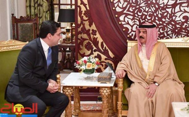 رسالة من الملك إلى عاهل البحرين