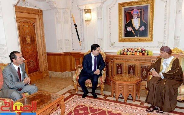 رسالة من الملك إلى سلطان عمان