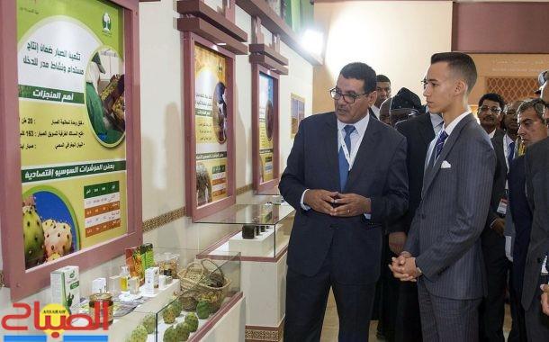 مولاي الحسن يفتتح المعرض الدولي للفلاحة بمكناس